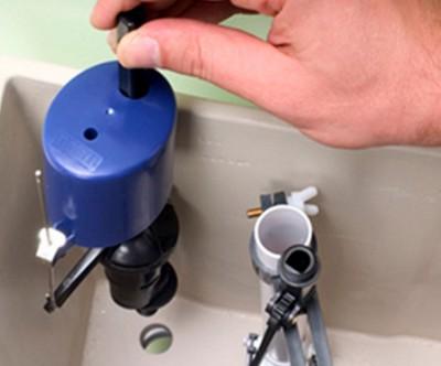 Замена поплавкового клапана
